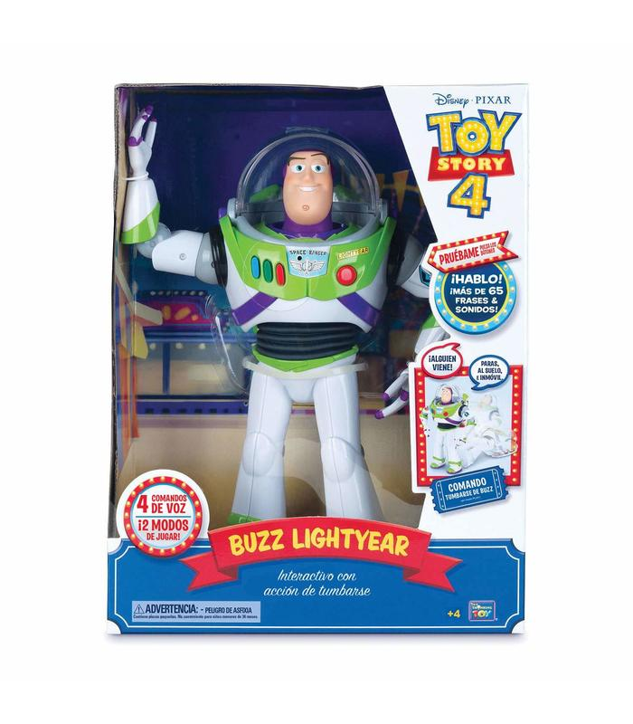 Toy Story 4 Buzz Super Interactive Toy Store