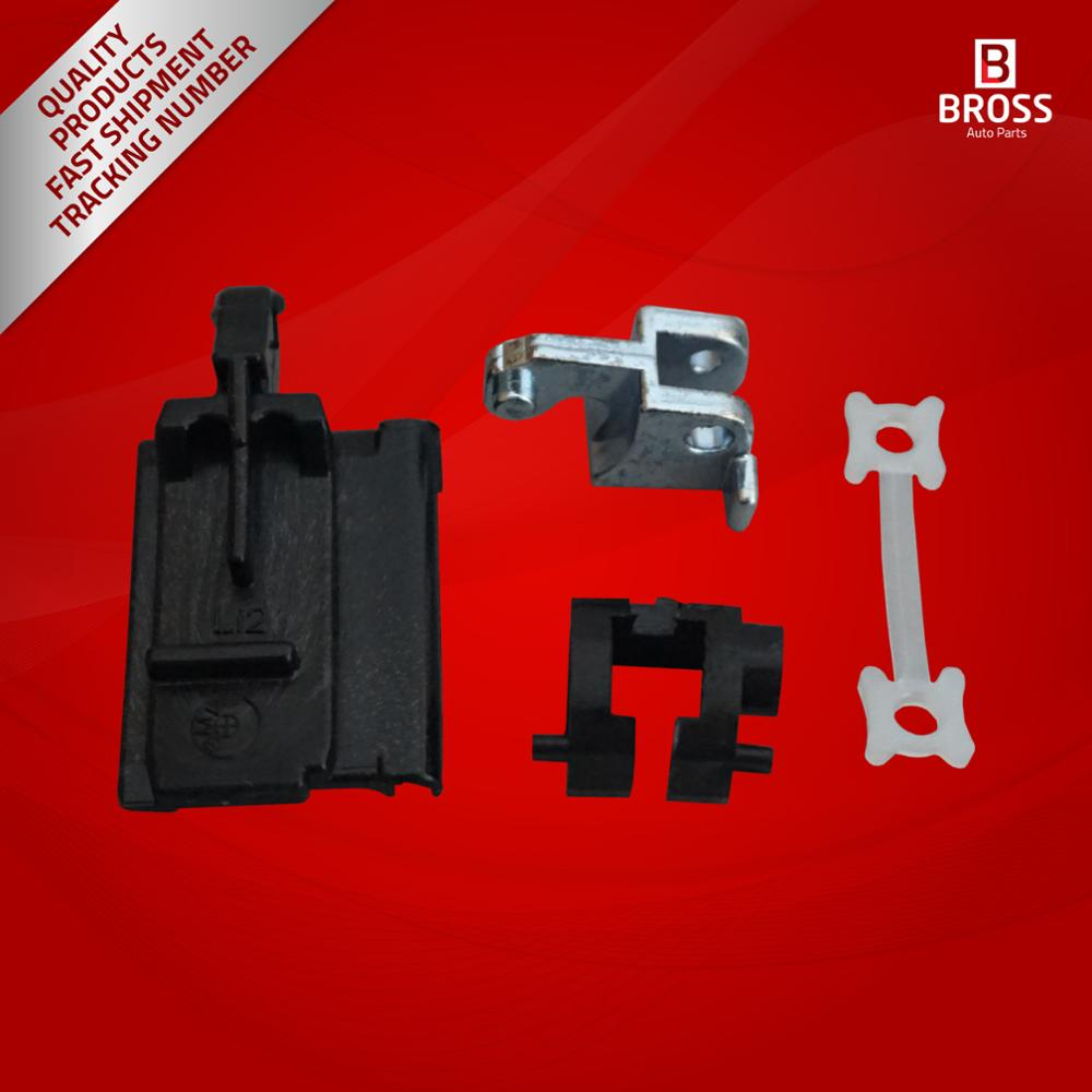 Bross BSR531 4 Pieces Sunroof Slider Guide Rail Set Right Side for 3 Series E36 1992-1999