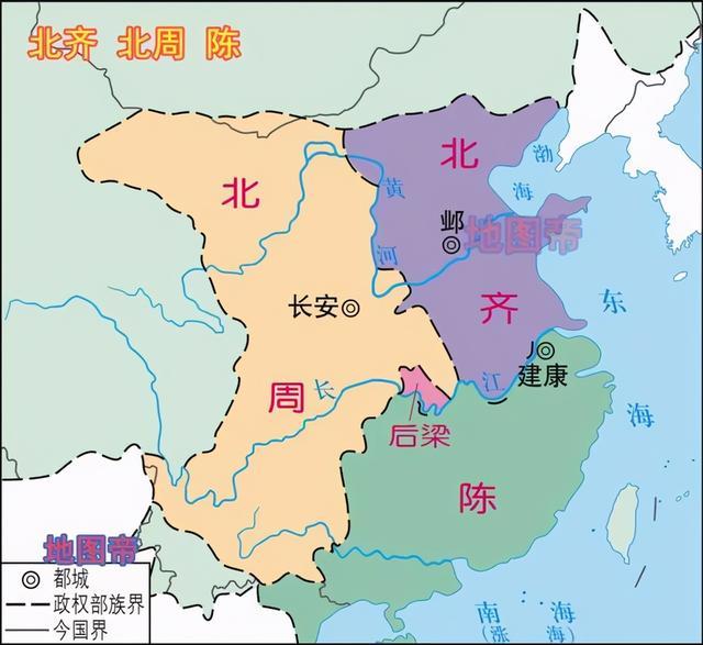 南北朝时期陈朝的创立者陈霸先是一个传奇:皇位没传给儿子,落到了侄子手中