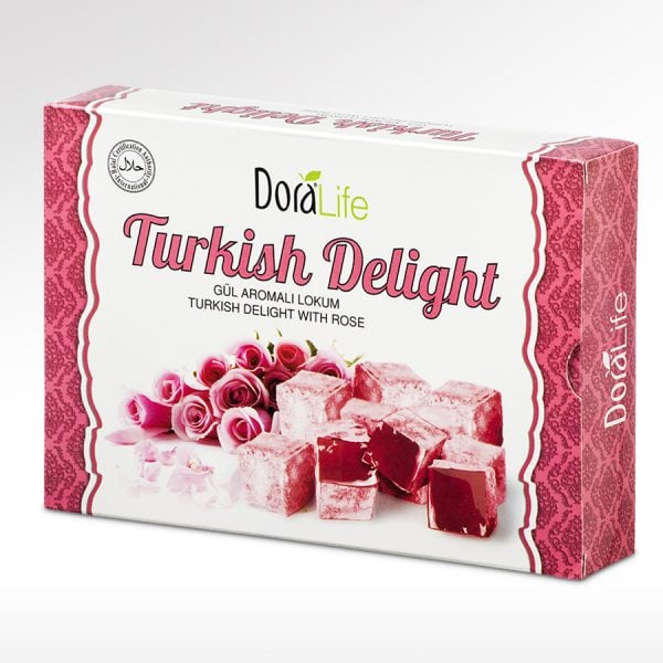 DoraLife - Turkish Delight With Rose Flavour 225 G