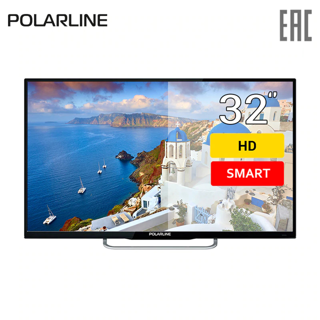 "Телевизор 32"" Polarline 32PL13TC-SM HD SmartTV"