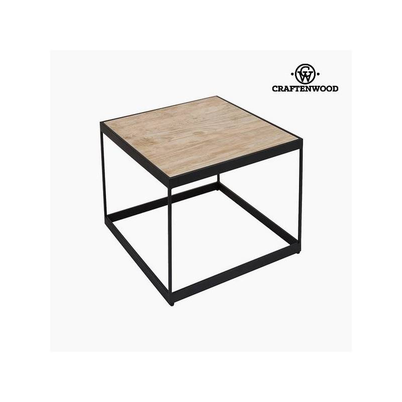 Side Table Ceramic Glass (62x62x50 Cm) Per Craftenwood