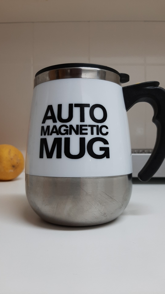USB Rechargeable Automatic Self Stirring Magnetic Mug photo review