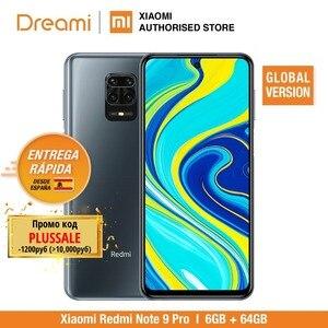 Глобальная версия Xiaomi Redmi Note 9 Pro 6 ГБ ОЗУ 64 Гб ПЗУ (абсолютно новый/Герметичный) redminote9pro, note9pro, мобильный смартфон, телефон, смартфон