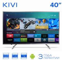 TV 40 KIVI 40FR52BR Full HD Smart TV Android HDR DVB DVB-T DVB-T2 40inchTv