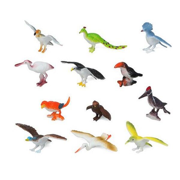 Set Of Wild Animals 110180 Bird (12 Pcs)