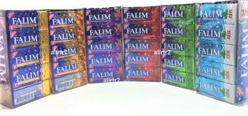Falim Sugarless guma do żucia bez cukru 6 smaków 100 sztuk pyszny smak bezpłatny SHİPPİNG tanie i dobre opinie Mężczyzna HK (pochodzenie)