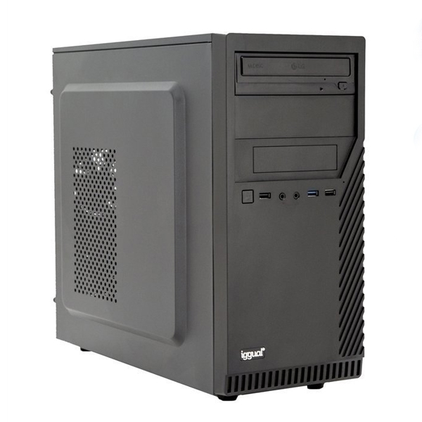 Desktop PC Iggual PSIPCH437 I5-9400 8 GB RAM 240 GB SSD W10 Black