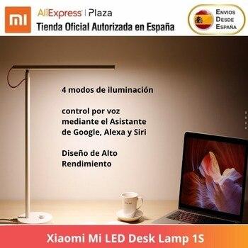 Lámpara de escritorio LED 1S, Luz de lectura, Luz de mesa de oficina, portátil, Aplicación Wifi