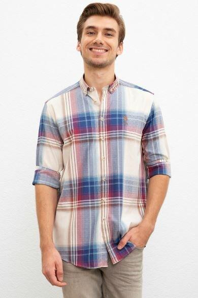 U.S. POLO ASSN. Plaid Regular Shirt