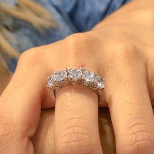 Золотое модельное серебряное кольцо Montür 5 Dibs
