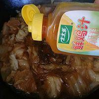#太太乐鲜鸡汁芝麻香油#大锅菜的做法图解5