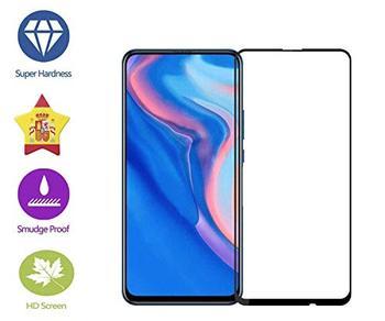 Перейти на Алиэкспресс и купить Im77r 2 шт 3D Премиум Закаленное стекло для защиты экрана 9H Huawei Y9 Prime 2019 черная крышка полная…