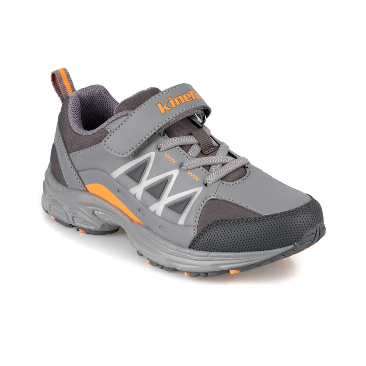 FLO VICTOR 9PR Dark Gray Male Child Hiking Shoes KINETIX