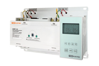 Automatic input unit reserve bavr 3 p 125/125 a TDM