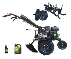 Motoazada benzin Kapotha Ultimative KIT Asurcador + Ruedas-motor OHV-Replik Honda GX210 208cc-7cv-snorkeling höhen filterung