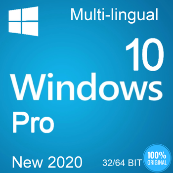 Windows 10 Pro 32/64 bit Original / Fast Shipping / CodeKey Activation Multi-lingual