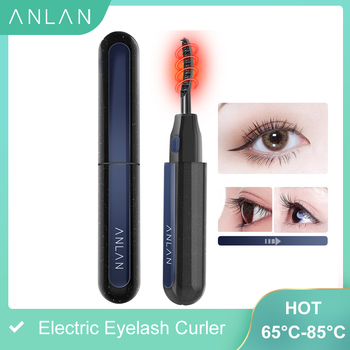 ANLAN New Electric Eyelash Curler USB Rechargeable Electric Heated Eyelash Long-Lasting Electric Ironing Eyelash Curler Device цена 2017