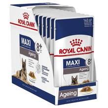 Royal Canin Ageing +8 Carne en Salsa para Perros Senior de Raza Grande Pack Ahorro 10x140 Gr
