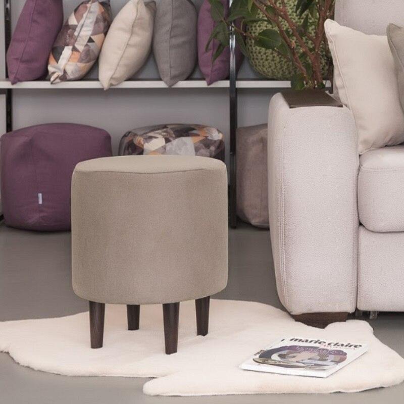 Saco de feijão sofás delicatex kioto kakao otomano acolchoado fezes puffe móveis sala estar decorativa