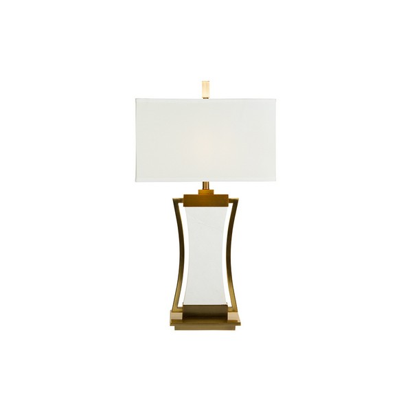 Desk Lamp Marble Silhouette (43 X 76 X 43 Cm)