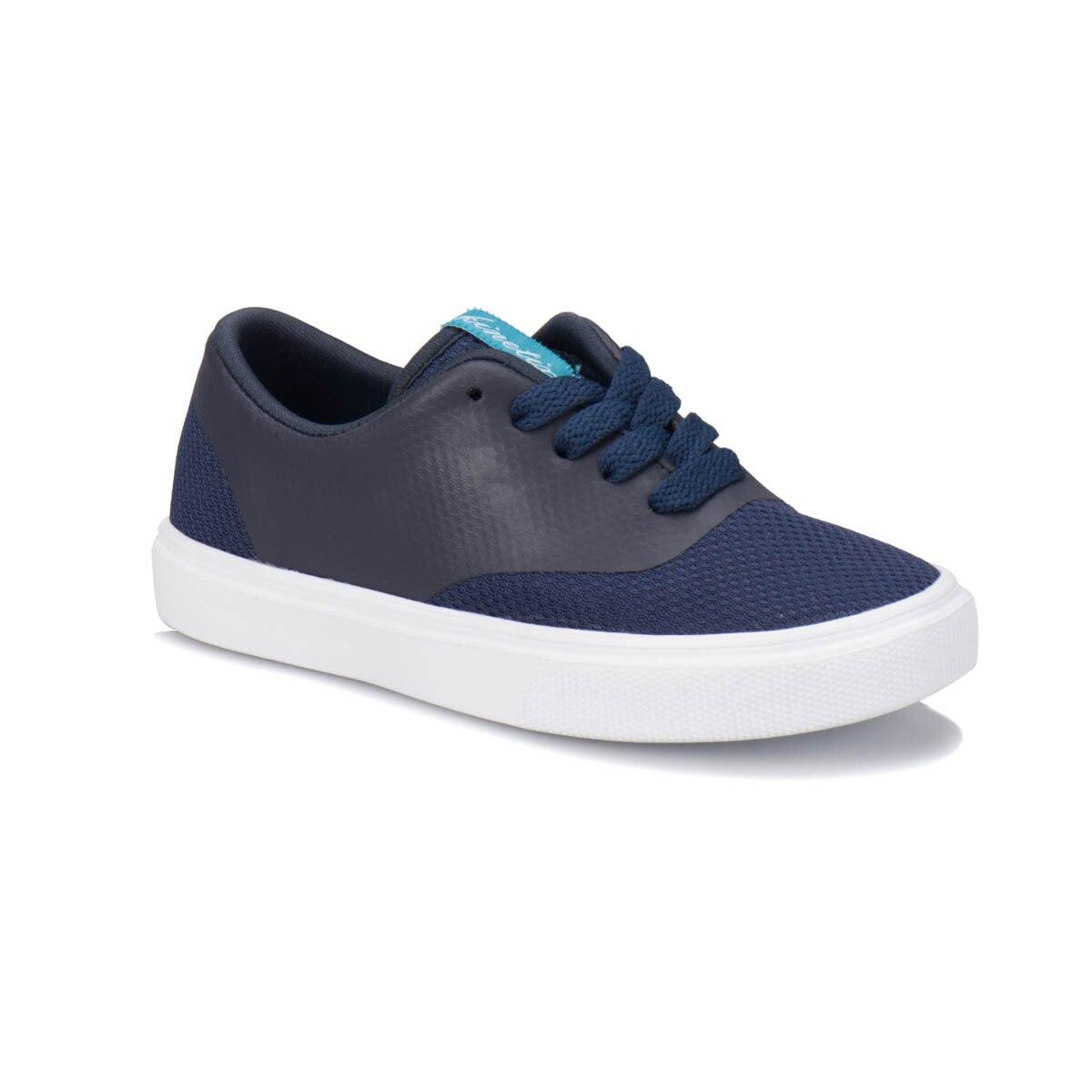 FLO GISELLA Navy Blue Male Child Sneaker Shoes KINETIX
