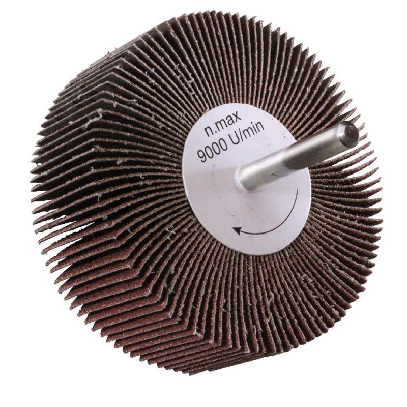 Fan Sandpaper Maurer Grit 60 80x30mm.