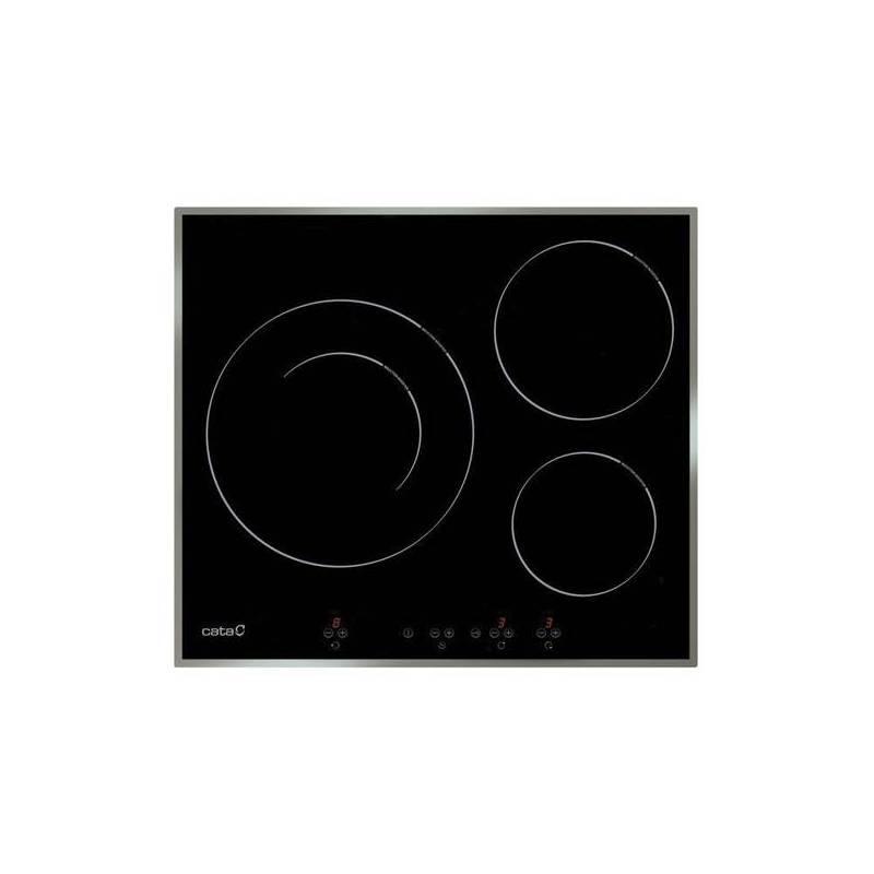 Induction Hob Tasting IB6030X 60 Cm Black (3 Cooking Zones)