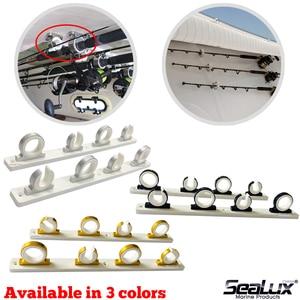 Набор алюминиевых держателей для удочек Sealux, 4 пары, для лодок, яхт, рыбалки, Морских Аксессуаров
