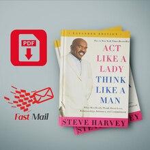 Act Like a Lady, Think Like a Man By Steve Harvey