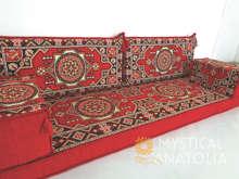 Sièges au sol arabes/canapés arabes/sièges arabes/coussins Benc/Jalsa/Mandala Design