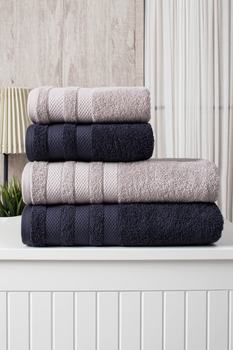 Zestaw ręczników kąpielowych 100 bawełna 4 sztuki wyjątkowo miękka dla dorosłych szybkie pranie łatwe czyszczenie łazienka twarz skompresowana plaża Hotel Hair Turkish tanie i dobre opinie eskey CN (pochodzenie) Bez wzorków wyszywana Rectangle Sprężone Szybkoschnący można prać w pralce 5 s-10 s Stałe