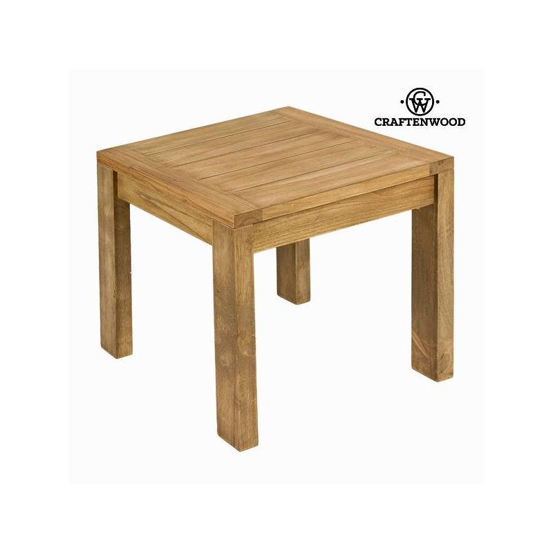 Coffee Table Wood Mindi (50x50x50 Cm)-The Collection Square By Craftenwood