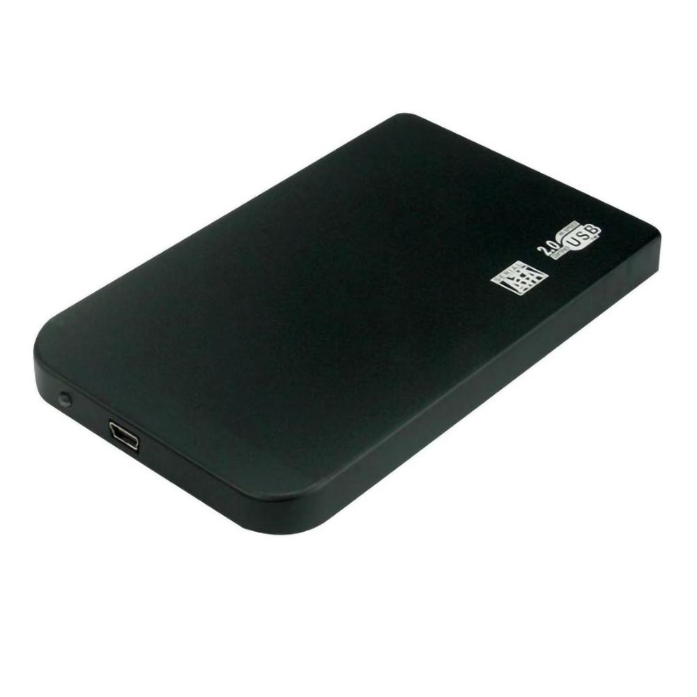 XT-XINTE Alloy Aluminum Sata To Mini USB 2.0 HDD Case 2.5 Inch Hard Drive Enclosure SSD External Portable Support