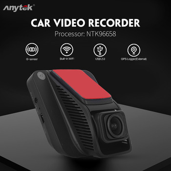 Anytek A50 2.45-inch IPS Screen High-definition Driving Recorder Super Night Car Dvr Vision Gravity Sensor Wifi Link Dash Camera image