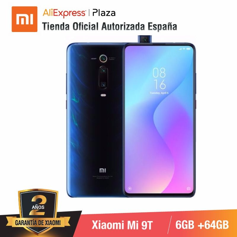 [Global Version For Spain] Xiaomi Mi 9T (Memoria Interna De 64GB, RAM De 6GB, Triple Cámara De 48 MP)