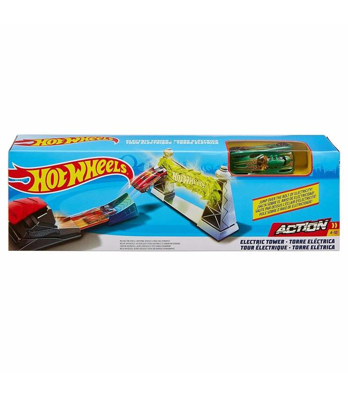 Hot Wheels Tower Electricity Toy Store Articles Created Handbook