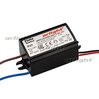 011745 Power Supply ARPV-LV24005 (24 V, 0.2A, 5W [IP67 Plastic 2] Box-1 Pcs ARLIGHT-Блок Power Supply/AC/DC Power Supply ^ 20