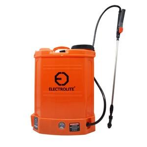 Опрыскиватель аккумуляторный ELECTROLITE BS 12 (Бак 12л, Произв. 3,6л/мин,  акб 12В/8Ач, Вес брутто/ 5,06кг) Опрыскиватели      АлиЭкспресс