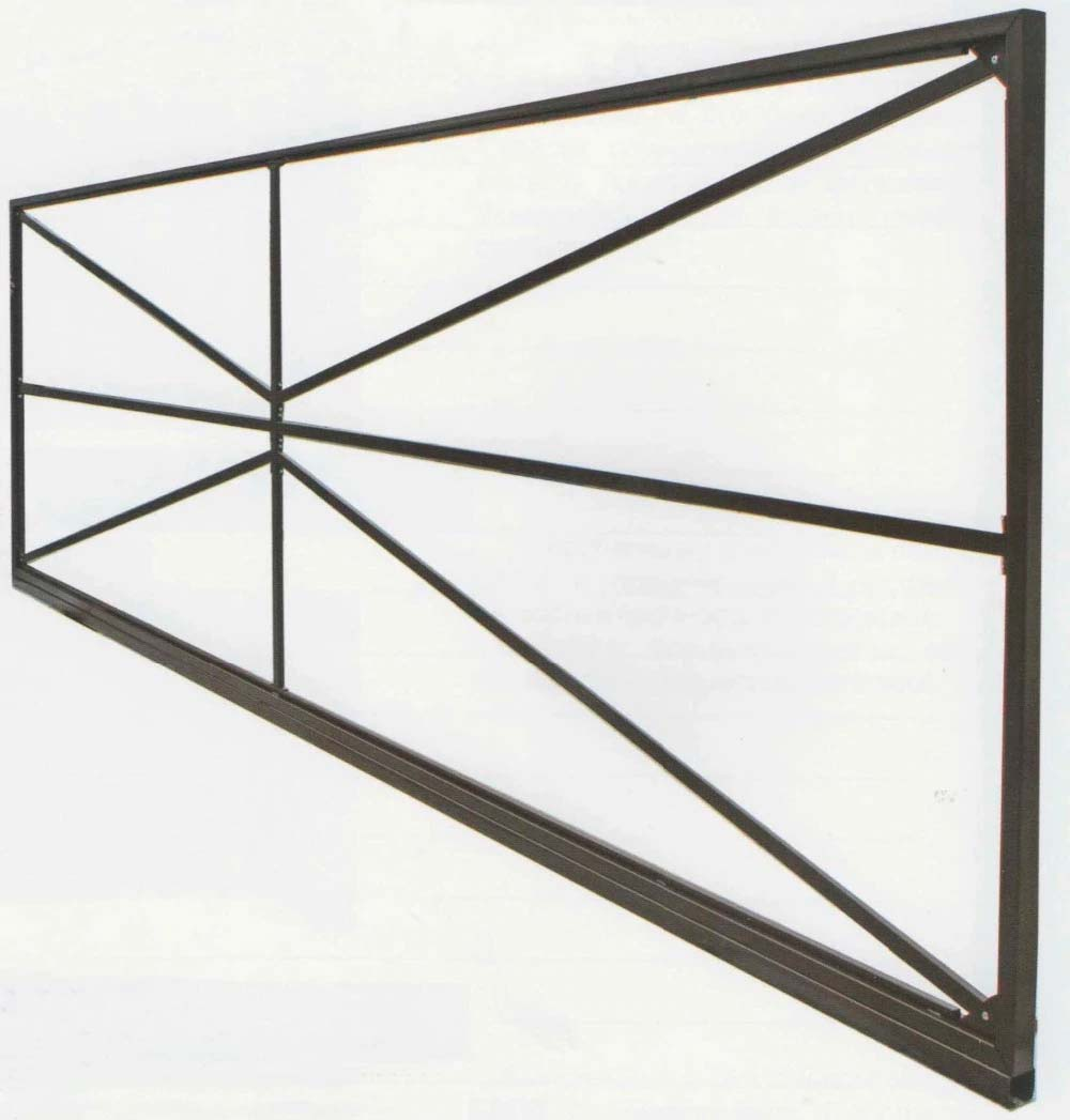 Откатные Gate Prefabricated Size 7 х1.9 M. Complete консольное Equipment