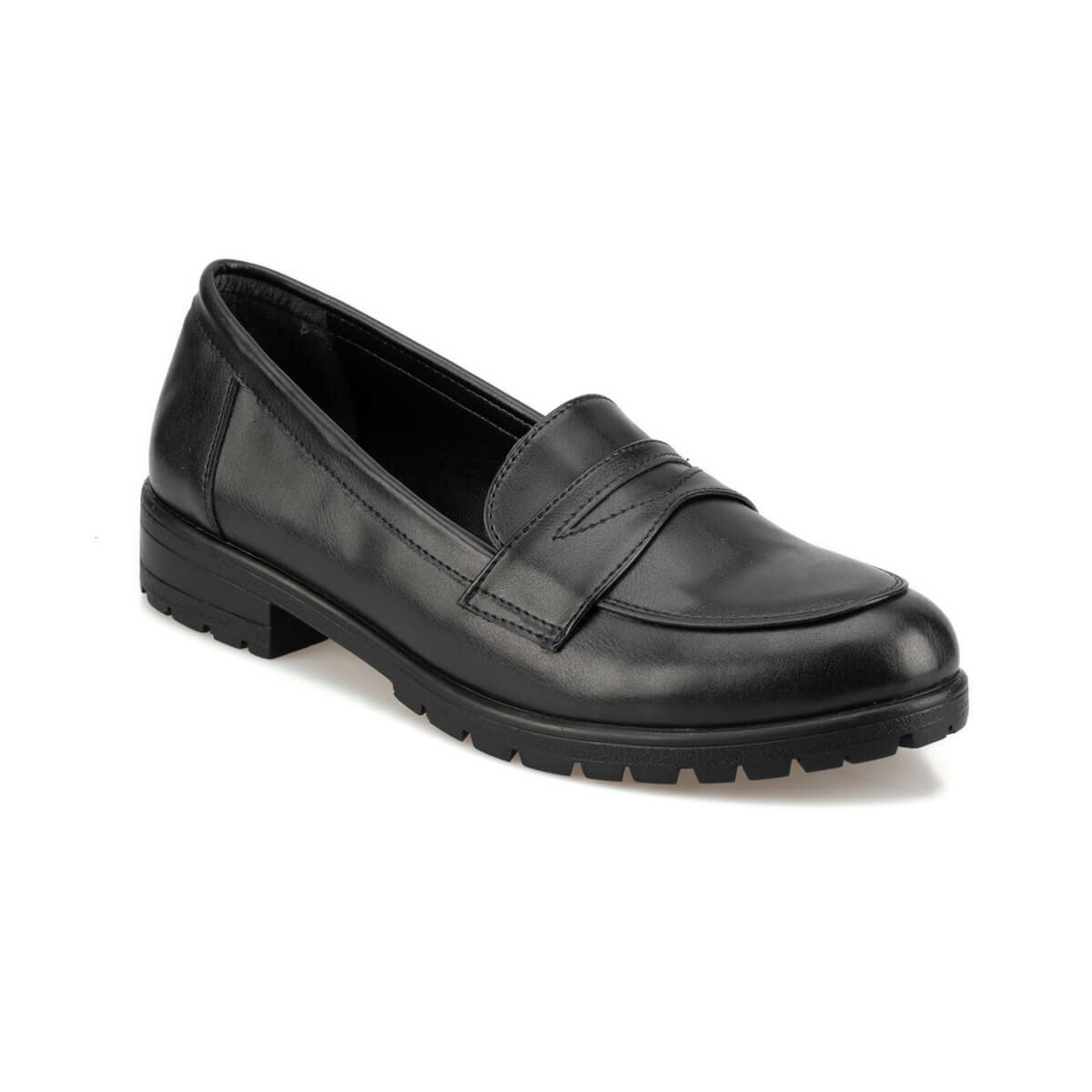 FLO 92.309131CZ Black Women Loafer Shoes Polaris