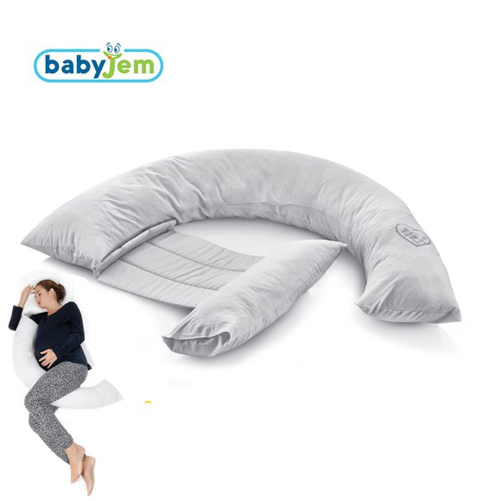 Ebebek Babyjem Back-Supported Nursing Breastfeeding Pillow