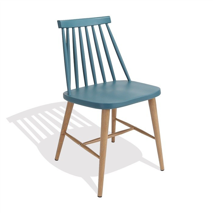Chair CAMUS Metal Turquoise