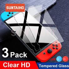 3Pack Beschermende Glas Voor Nintend Schakelaar Gehard Glas Screen Protector Voor Nintendos Schakelaar Ns Glas Accessoires Screen Film