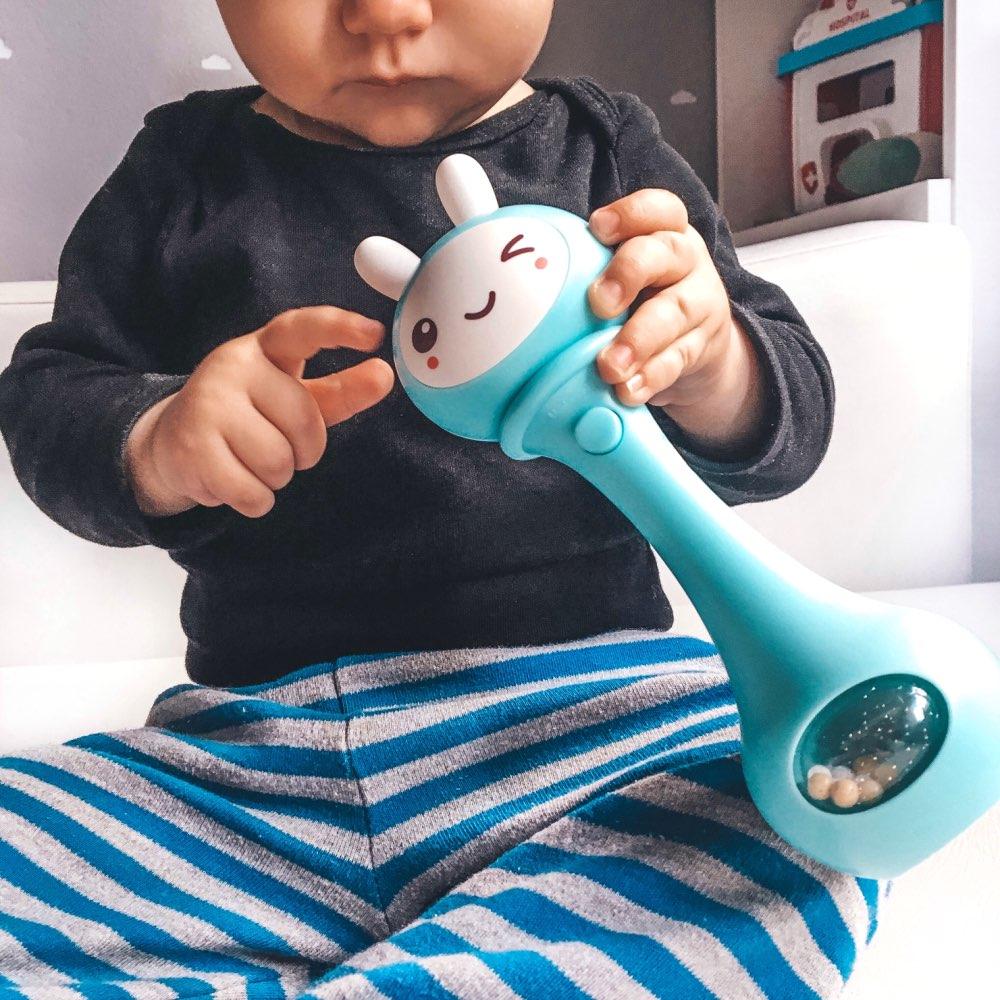 Móbiles e chocalhos para bebês Brinquedos Musical Agitando