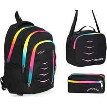 Entegre Pack 9956 Backpack For School 3 Pieces Back To School Girls Boys 2020 New Education Year Colorful Women Men