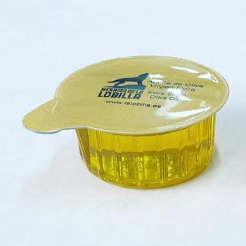 EXTRA virgin olive oil, Herriza de la Lobilla brand, 296 monodose of 15ml, Spanish product