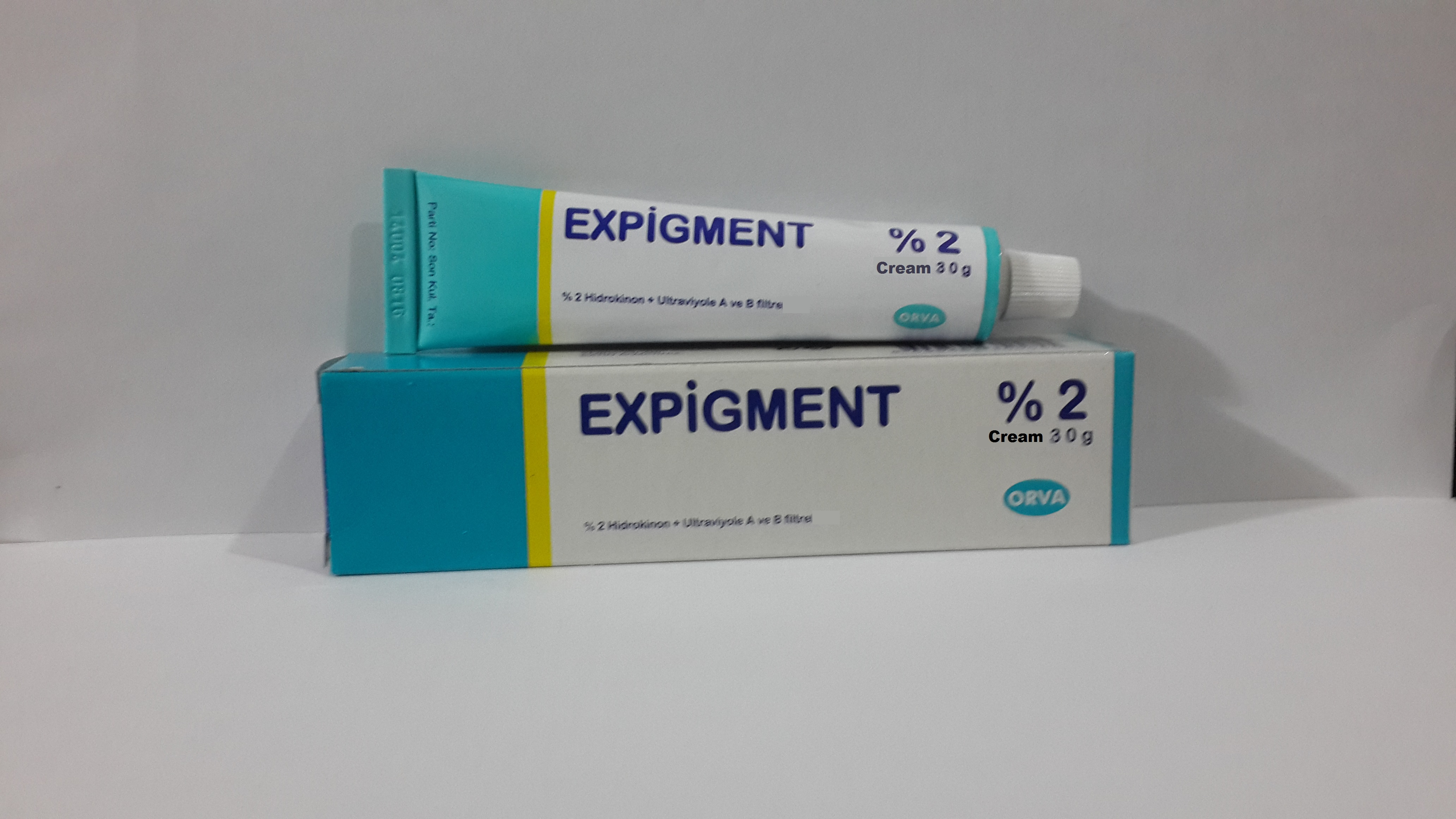 Expigment Hydroquinone 2% Cream For Skin Bleaching Skin Lightening Skin Melasma Treatment 30g/1oz