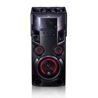LG OM5560 speaker big power (500 W, Bluetooth 4.0, Karaoke, led lighting, USB * 2, CD, Aux, FM Radio, effects DJ, black)