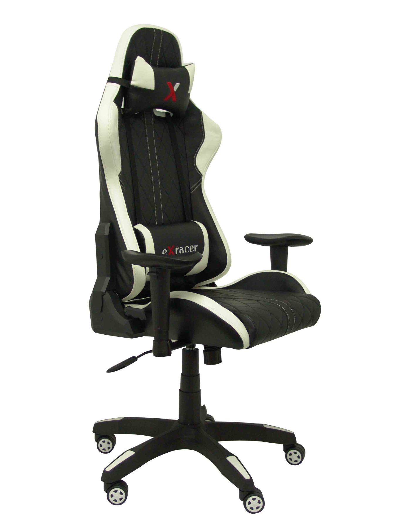 Gaming Chair With Mechanism Rocker, Adjustable Height And Arms Dimmable Included-Seat And Backrest Cushion
